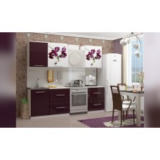Кухня 1,7 МДФ Орхидея 1