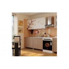 Кухня 2,0 ЛДСП фотопечать Сакура