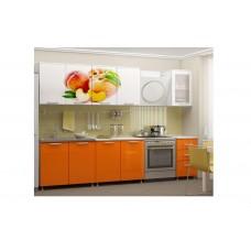Кухня 2,0 МДФ фотопечать Персик