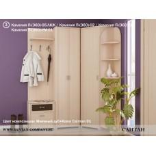 Модульная прихожая Камелия 3 - магазин мебели Росмебельгрупп