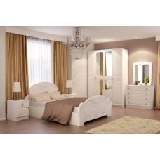 Модульная спальня Александрина глянец - магазин мебели Росмебельгрупп