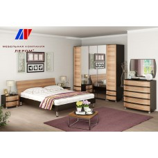 Модульная спальня Дольче Нотте 1.1 - магазин мебели Росмебельгрупп