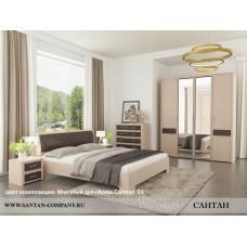 Модульная спальня Камелия 1