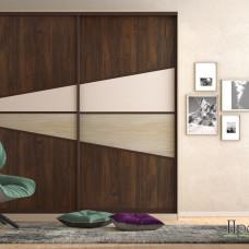 Шкаф-купе Барко двухдверный - магазин мебели Росмебельгрупп