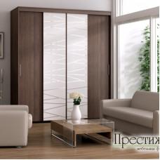 Шкаф-купе Прима четырехдверный - магазин мебели Росмебельгрупп